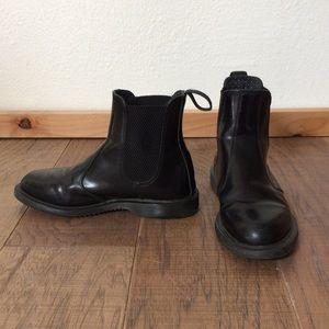 Dr. Marten Flora Chelsea Boot Black Leather